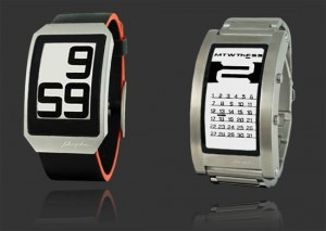 Geeky Watches – Phosphor E-Ink Watches