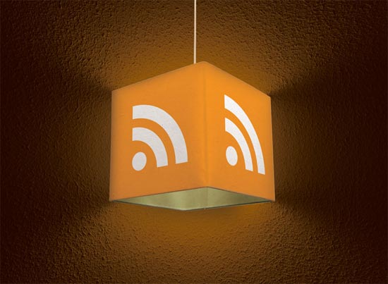 RSS Icon Lampshade