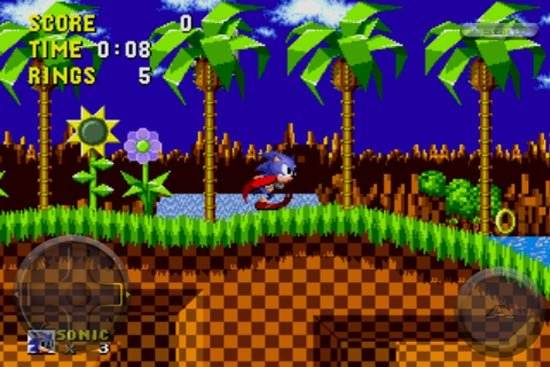 sonic the hedgehog iphone