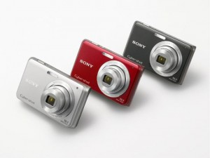 Sony Cybershot W180 and W190 Digital Compact Cameras