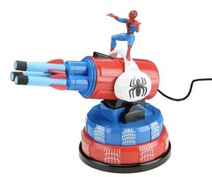 Geek Toys – Spiderman USB Missile Launcher