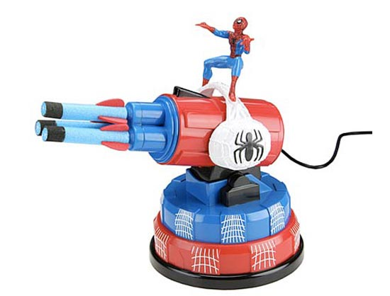 Geek Toys For Newborn : Geek toys spiderman usb missile launcher geeky gadgets