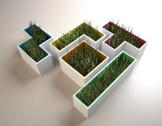 Tetris Plant Pots