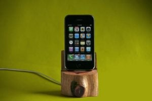 Tree Trunk iPhone Dock