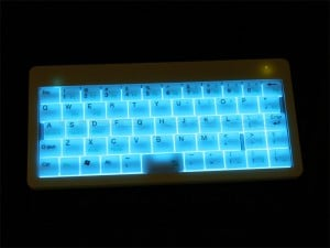 USB illuminated Wireless Keyboard