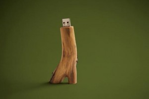 Wooden USB Drives