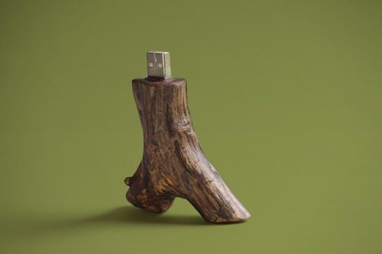 Wooden USB Drives