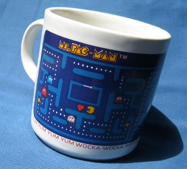 1981 Ms Pac-Man Mug