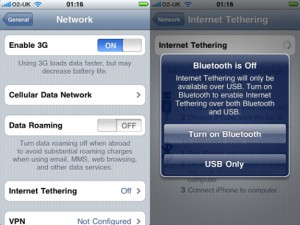 AT&T to Charge $55 for iPhone Tethering