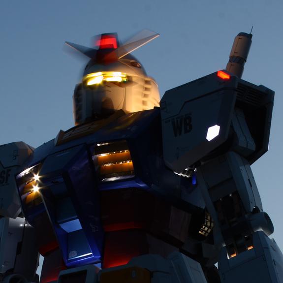 59 Foot Gundam Robot