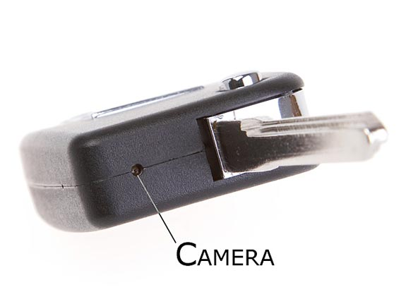 Fake Car Key Security Spy Camera