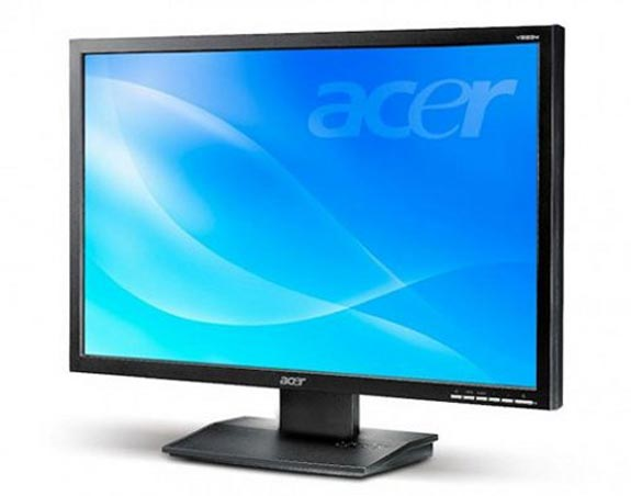 acer green lcds