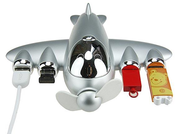 Airplane USB Hub
