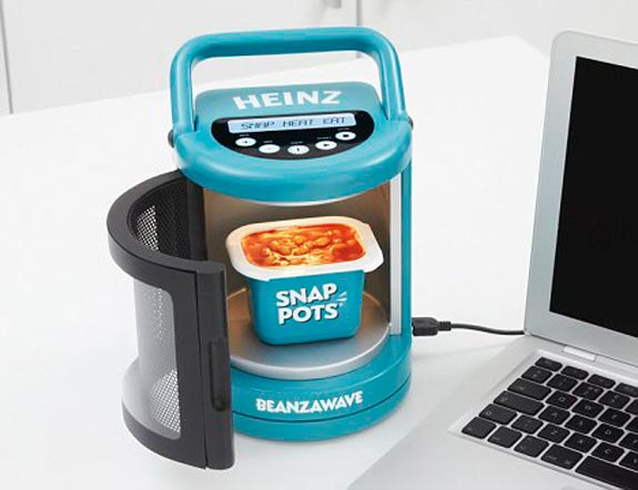 Beanzawave Usb Powered Baked Beans Microwave