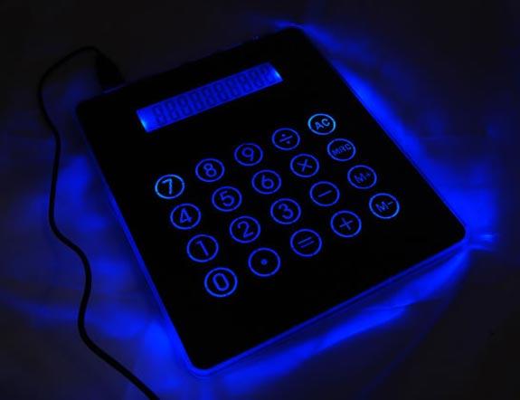 Calculator Mousepad USB Hub