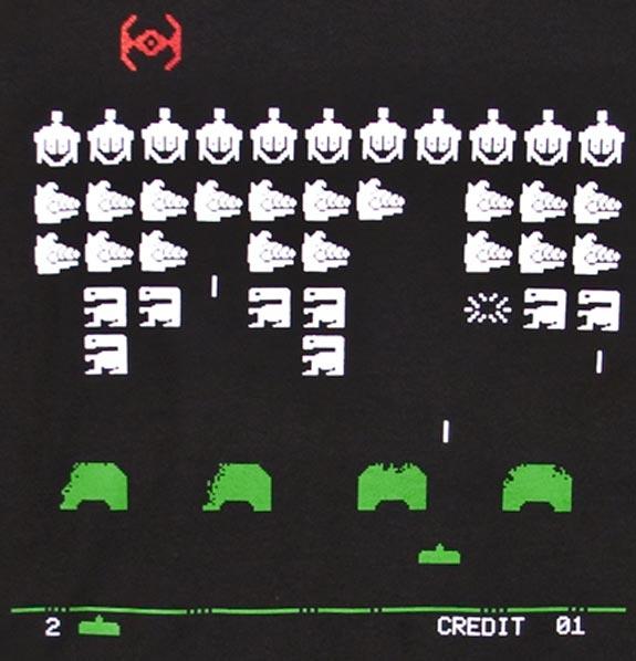celebrity alien invaders t-shirt