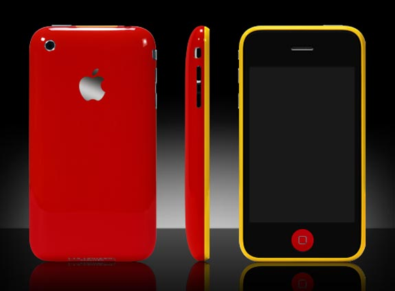 iPhone 3GS gets the Colorware treatment