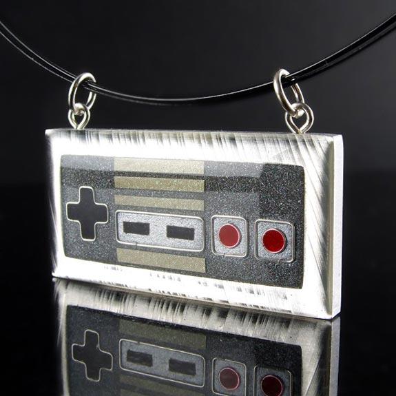 Custom NES Controller Pendant