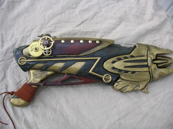 Custom Steampunk Guns