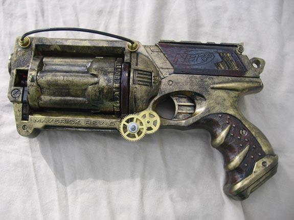 Custom Steampunk Guns