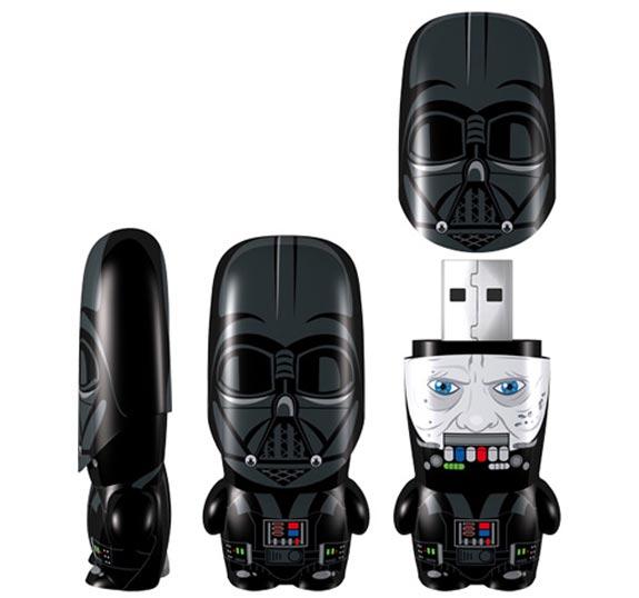 Darth Vader Unmasked Mimobot Flash Drives