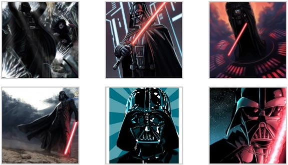 darth vader illustrations