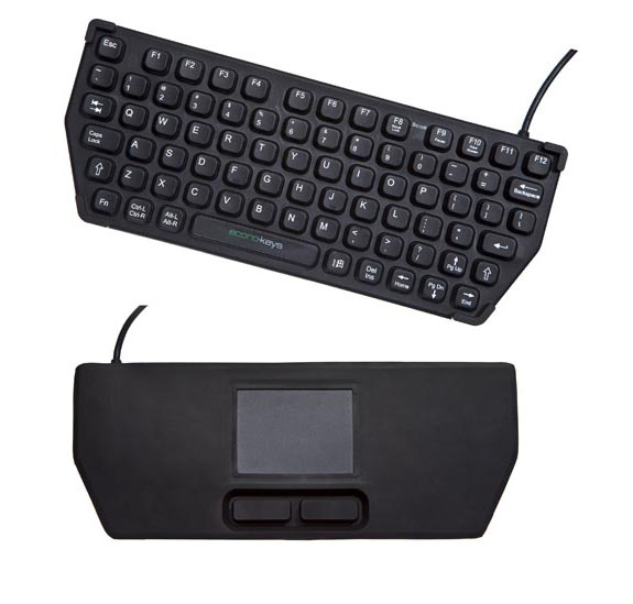 Econo-Keys Reversible Keyboard
