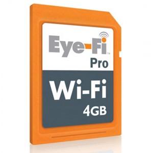 Eye-Fi Launches the Eye-Fi Pro 4GB Wireless Memory Card