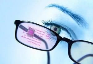 Eyeglass Mounted Display