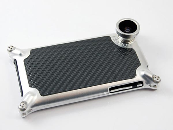 Factron iPhone Case and Fisheye Lens