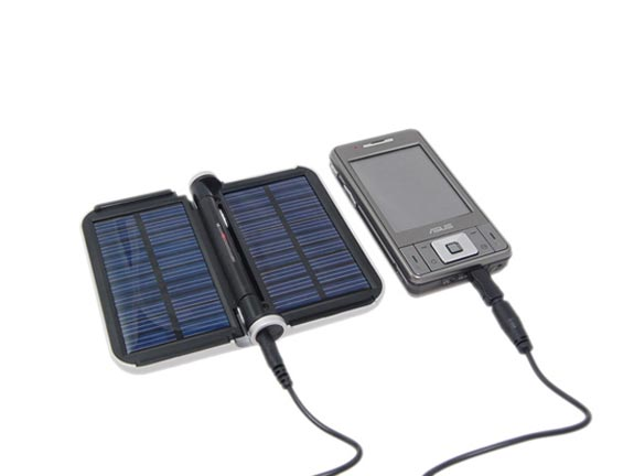 Foldable Solar Charger with Light