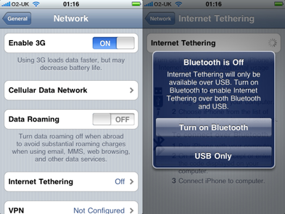 free tethering iphone