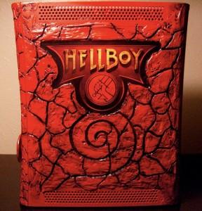 Hellboy Xbox 360 Case Mod