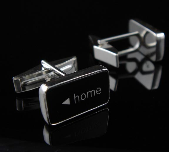 Geek Accessories - The <Home End> Computer Key Cufflinks