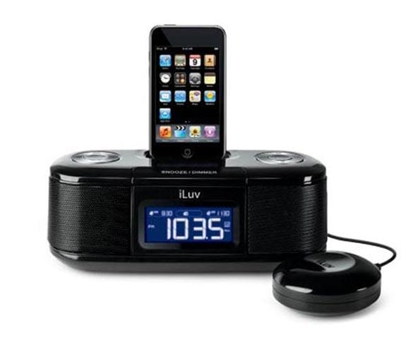iluv imm153 ipod alarm clock. Black Bedroom Furniture Sets. Home Design Ideas