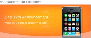 AT&T reduces upgrade pricing for the iPhone 3GS