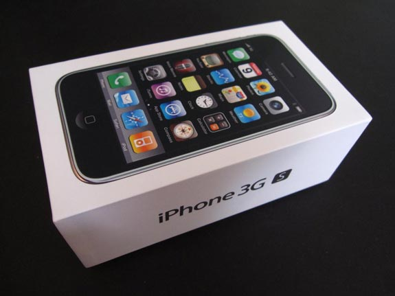 iPhone 3GS Unboxing Photos