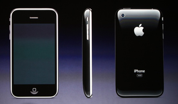 apple sells one million iphone 3gs. Black Bedroom Furniture Sets. Home Design Ideas