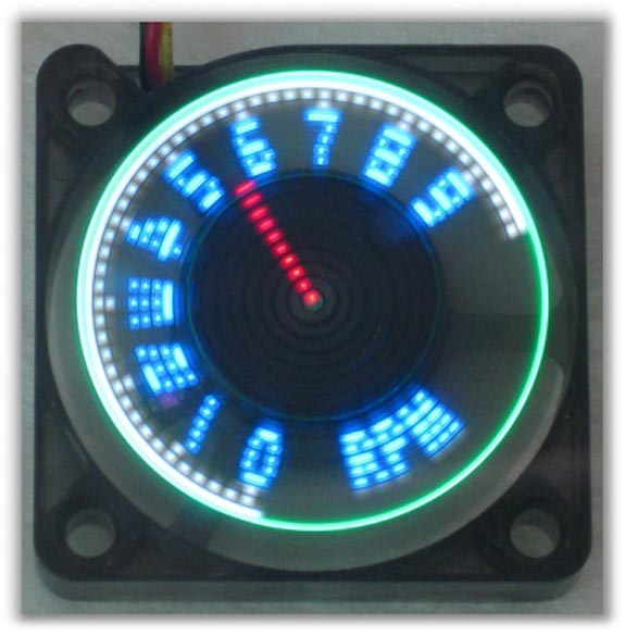 Programmable LED Cooling Fans