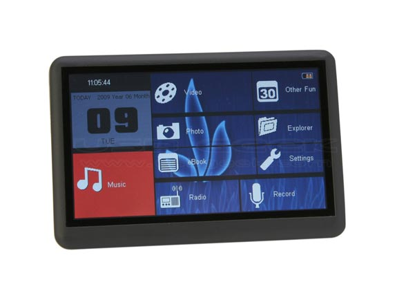 Lovely Star Touch Screen PMP Player