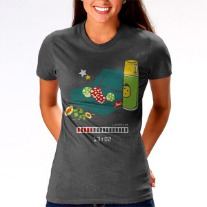 Geeky Clothing – The Lunchtime T-Shirt