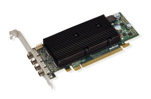 Matrox M9148 LP PCIe Graphics Card supports four monitors