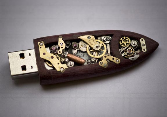 Mechanical Memory Key