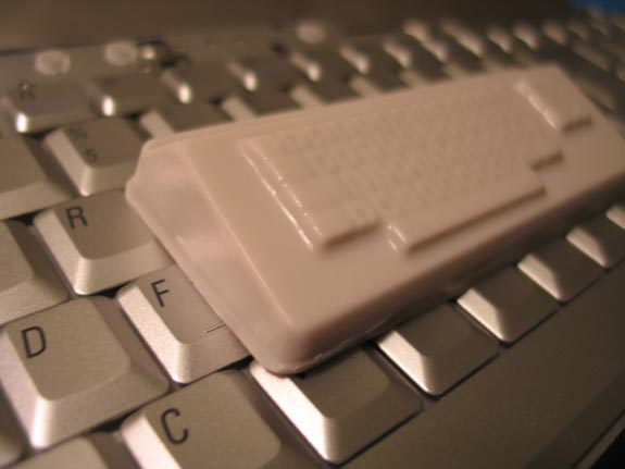 Old School Keyboard Soap