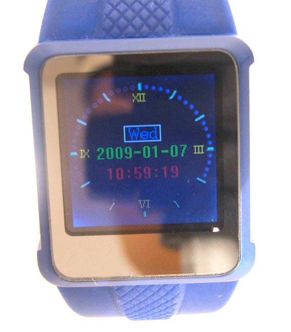 OLED Video Watch