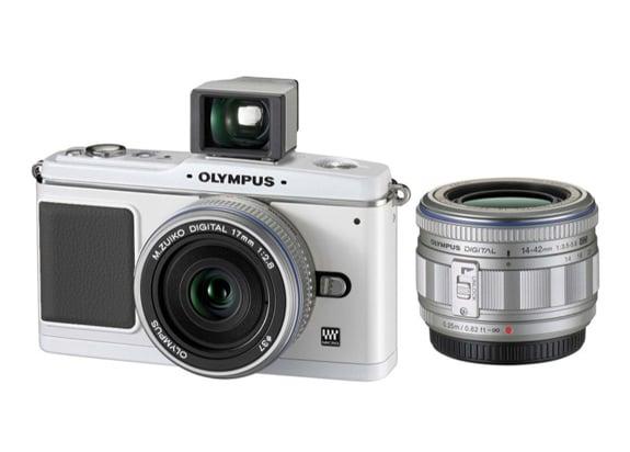 Olympus E-P1 Micro Four Thirds Compact Camera