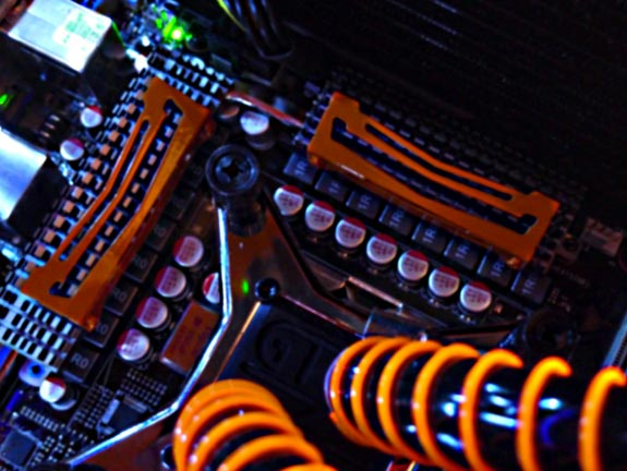 Overclocked Orange PC