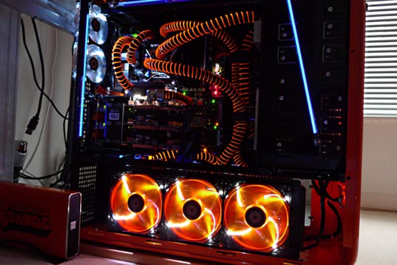 Overclocked Orange PC