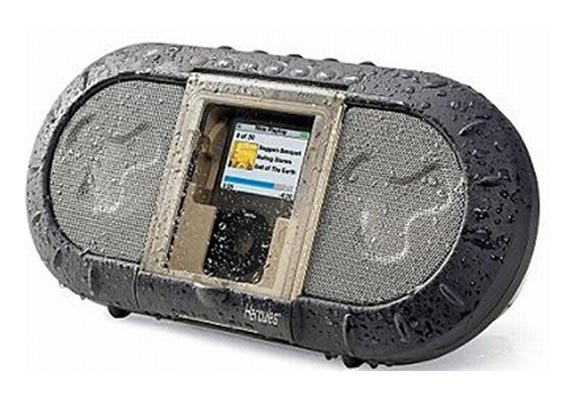 Portable iPod Outdoor Speaker