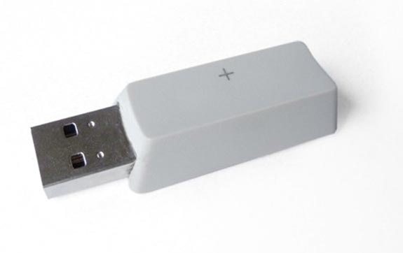 Recycled Keyboard Key Flash Drives